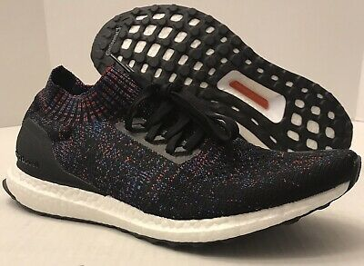 better half price best supplier ADIDAS UltraBOOST Uncaged B37692 Core Black/Active Red/Blue ...