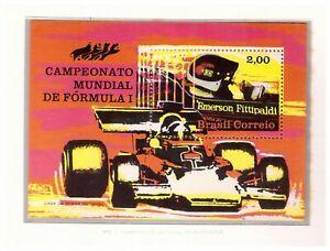 S18950) Brasilien Brazil 1972 MNH Neu Formula-1 Championship S/S