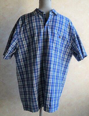 Tommy Bahama Island Zone Check-O-Lada Silk /& Polyester Short Sleeve Shirt Nwt