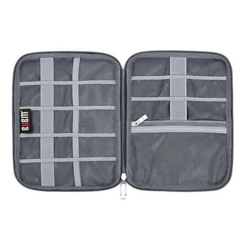 Portable Earphone Cable USB Charger Tidy Organizer Storage Bag Travel Case Pouch