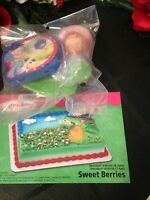 Decopac Strawberry Shortcake Sweet Berries Cake Topper Decorating Kit B-day