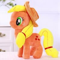 30CM Large My Little Pony Apple Jack Stuffed Soft Plushed Toy Doll Kids Gift
