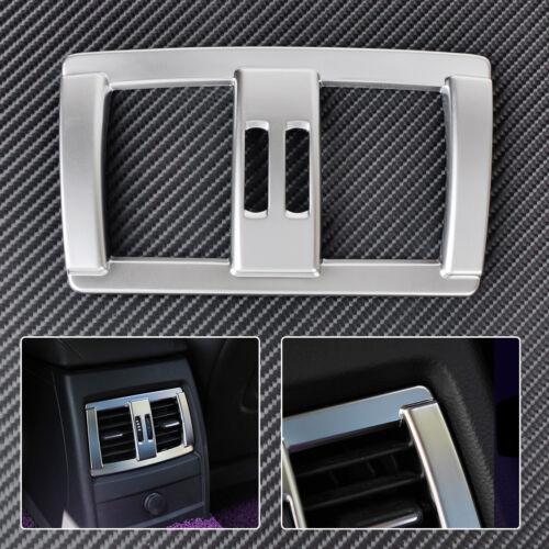 Apoyabrazos Cromo Cubierta Trasera Moldura Adorno de ventilación de aire se ajusta BMW serie 4 3 F30 F34 F36