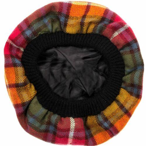 Tam O/' Shanter Hat Buchanan Antique Tartan Tammy Hat Lambswool