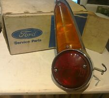 FORD ANGLIA 105E 1200 SUPER CHROME REAR LAMP NEW OLD STOCK IN FORD BOX VERY RARE