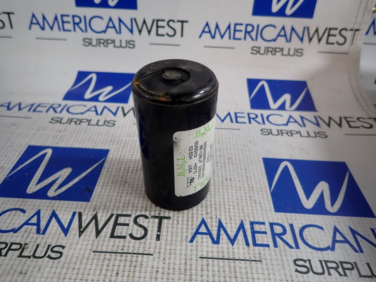 11062 Mars OEM Replacement Motor Start Capacitor 330 Volt 88-108 MFD