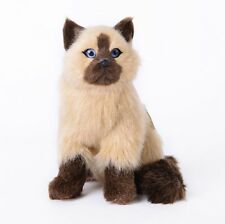 Super Soft Plush Siamese Cat with Sound Module