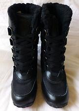 Pajar Canada Aventure Low Womens Black Waterproof Winter Boots Sze 40 New $175