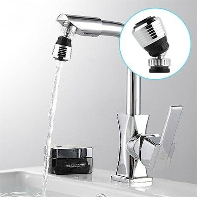 360 Rotate Faucet Nozzle Filter Adapter Tap Aerator Diffuser Kitchen 2Y