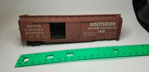 7-034-HO-SCALE-SOUTHERN-1981-TRAIN-HO-SCALE-MODEL-FREIGHT-CAR-Super-Cushion-Service