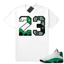 Rap Air Jordan 13 Aurora Green Match T Shirt Adult and Youth Shirt Full size