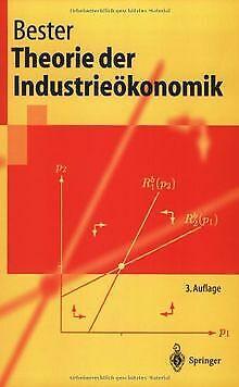 Theorie der Industrieökonomik (Springer-Lehrbuch) von He... | Buch | Zustand gut