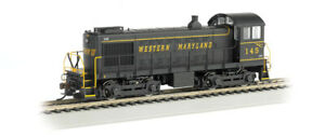 Bachmann-63151-N-SCALE-S4-DIESEL-WESTERN-MARYLAND-WITH-DCC-NEW-IN-BOX