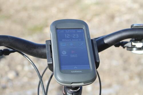 Black Garmin 010-11654-07 Bicycle Handlebar Mount For Montana Handheld GPS