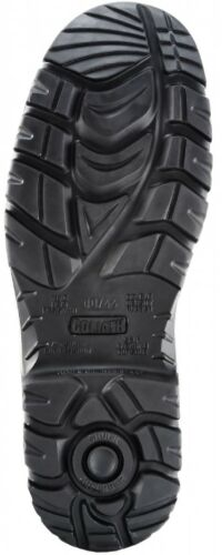 Safety Boot Safety footwear Black Goliath Combat Boot ODR Scuff Cap and Midsole