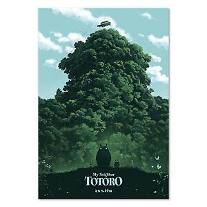 My Neighbor Totoro Poster Studio Ghibli Anime Art High Quality Prints