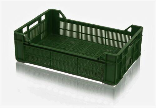 gemüsebox panier de fruits en plastique boîte box fruits pain Légumes Boîte 60x40x17 Vert