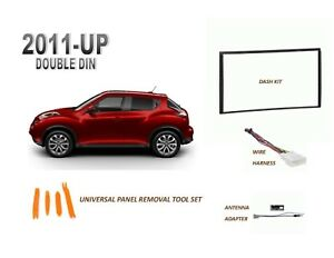 Details about NEW fits 2011-UP NISSAN JUKE Car Stereo Double DIN Dash Kit,  with Wire Harness