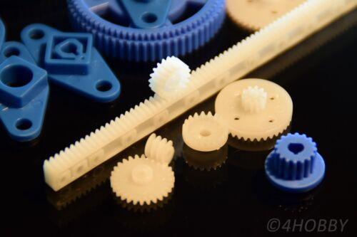 3 4 6 8 10mm INGRANAGGI translation MODELLISMO RC 66 pezzi set di ingranaggi FLANGIA