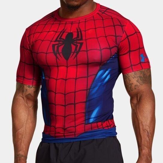Najlepiej super promocje San Francisco Under Armour SPIDERMAN Alter Ego Compression T-Shirt 2XL 3XL NWT NEW