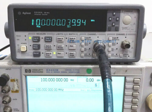 Agilent//HP 53132A RF and Universal Frequency Counters 225 MHz 12 Digit