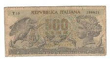 500 LIRE aretusa 1970 senza fibrille R2 RR  LOTTO 1538