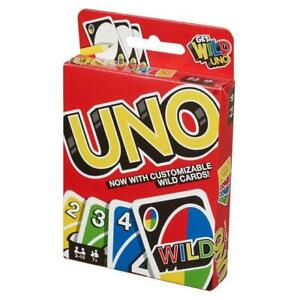 SET OF 20 PCS UNO CARD GAME With WILD CARDS Matte Family Fun Indoor Party game