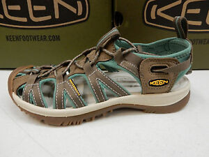 685e4f1c001b Image is loading KEEN-WOMENS-SANDALS-WHISPER-SHITAKE-MALACHITE-SIZE-6