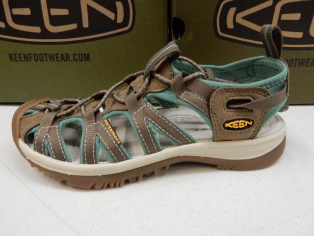1888be023ed KEEN Womens Sandals Whisper Shitake MALACHITE Size 9 for sale online ...