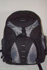 """Targus 15.4"""" Notebook Sport Backpack Padded Front Pocket Workstation Book Bag"""
