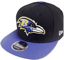 New Era NFL Baltimore Ravens 2 Tone Snapback Cap Kappe 9fifty Basecaps Mens New