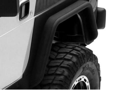 "XRC 3/"" Rear Flares for Jeep Wrangler YJ 1987-1995 Black Smittybilt 76877"