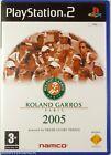 ROLAND GARROS PARIS 2005 - jeu video de Tennis console PlayStation 2 PS2 sport