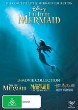 The Little Mermaid Trilogy DVD NEW