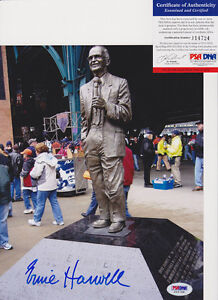 Ernie-Harwell-Detroit-Tigers-Signed-Autograph-8x10-Photo-PSA-DNA-COA-2