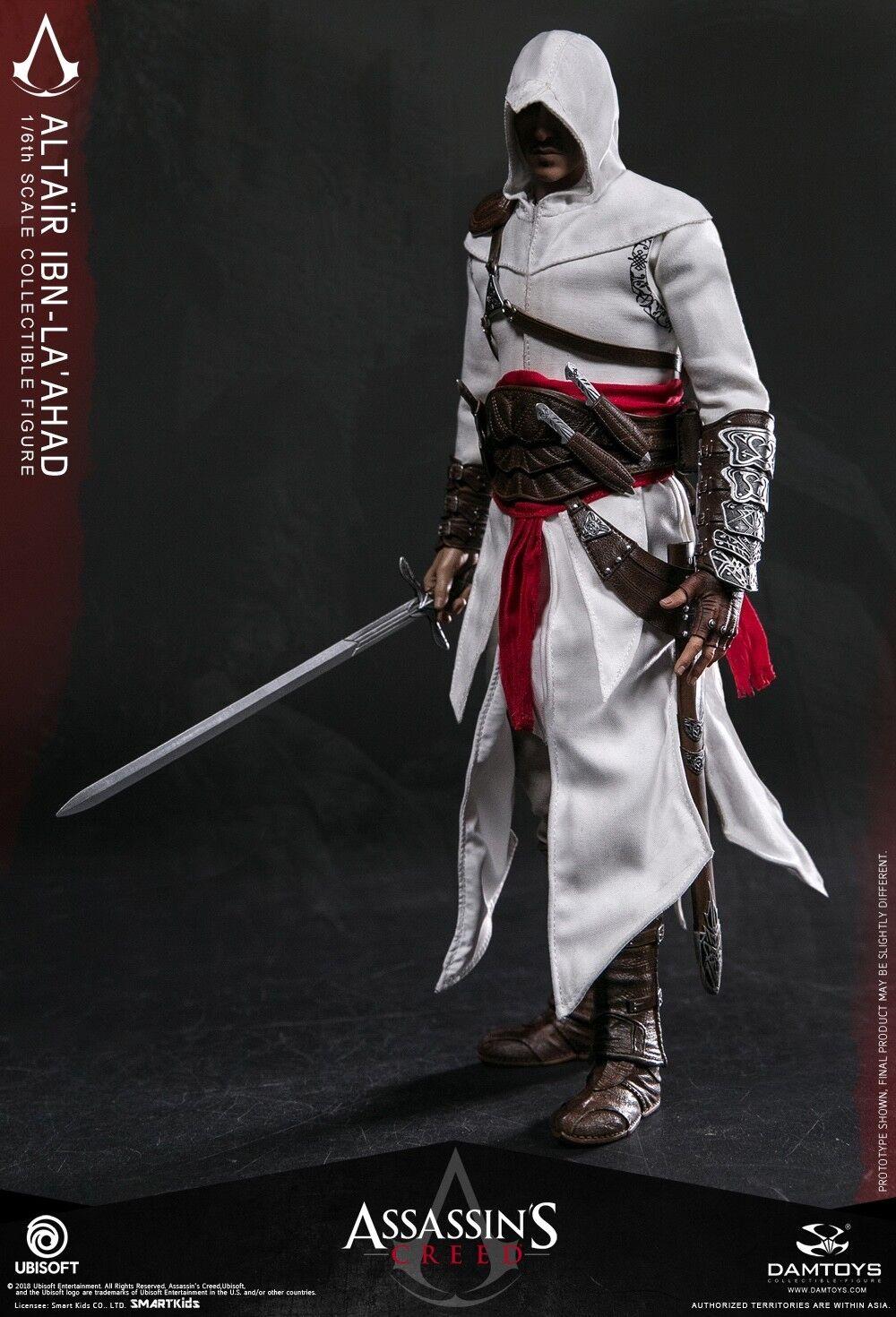 DAMTOYS Altair Ibn-La Ahad Assassin's Creed Ⅰ1 6th Escala Figura De Colección Nuevo