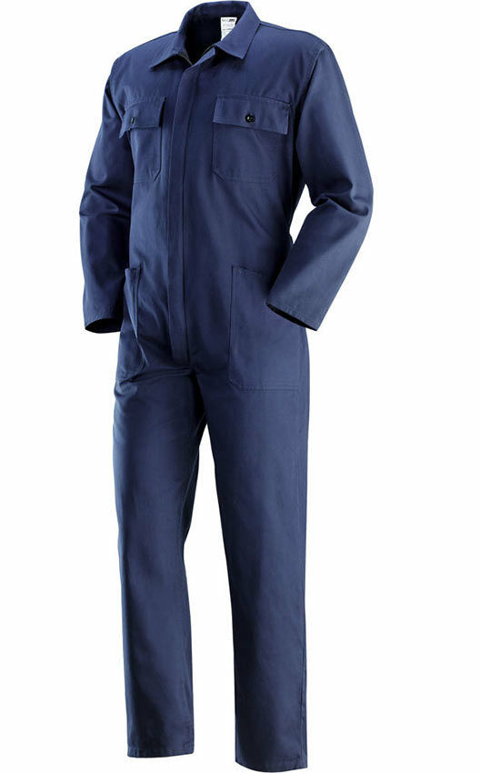 Tuta Da Lavoro Cotone Blu Massaua Taglia 46 A 68 Meccanico Agricoltore Operaio Ebay