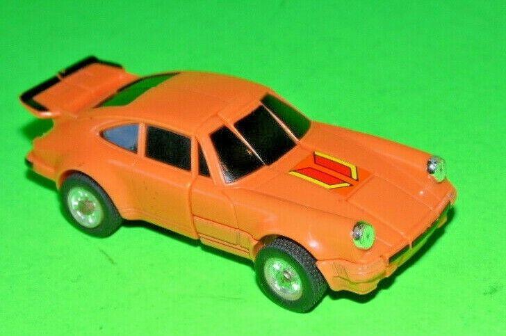 1984 BANDAI TOYS orange PORSCHE 1 64 SCALE DIECAST CAR GOBOT TRANSFORMER JAPAN