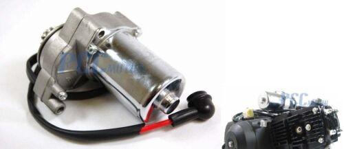 ELETRIC STARTER MOTOR ATV PIT DIRT BIKE ENGINE 3 bolt 110cc 12V  M ST01