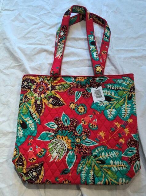 Nwt Vera Bradley Tote Retired Rumba 15702 G24 Purse Shoulder Bag Free Shipping