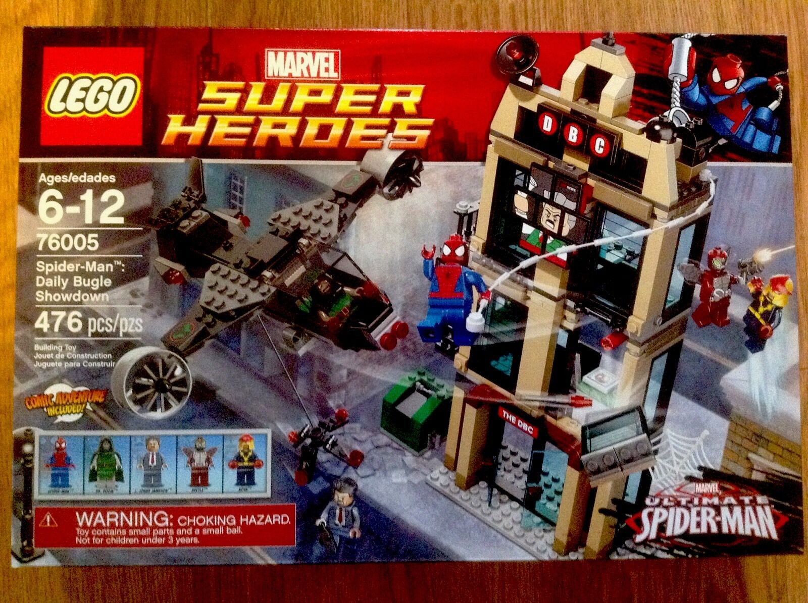 LEGO Super Heroes MARVEL UNIVERSE Spider-Man Daily Bugle Showdown NEW