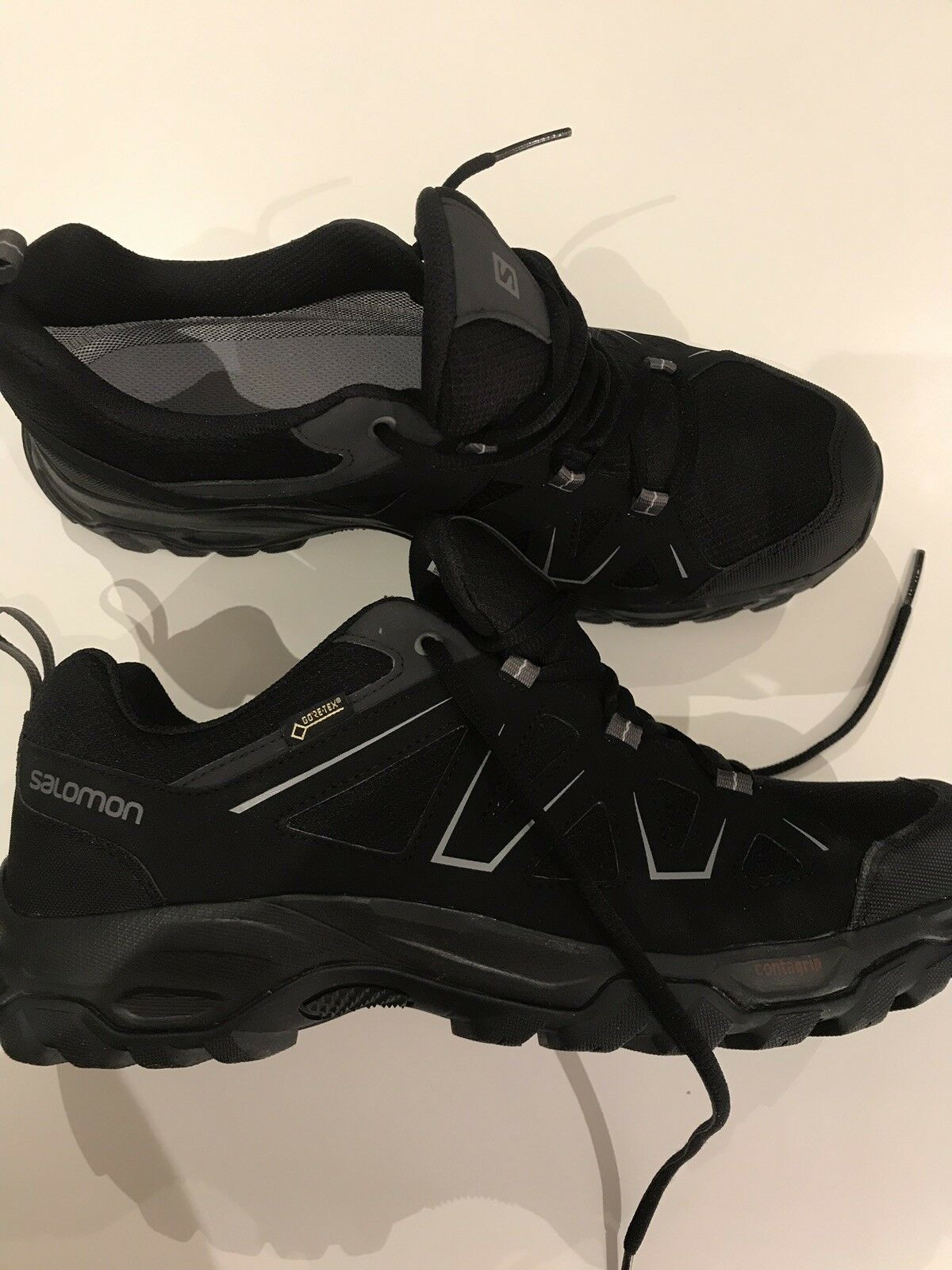 Brand New Salomon Mens Tibai GTX Low Walking  shoes Gore Waterproof RRP  big sale