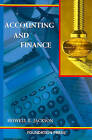 Accounting and Finance by Howell Jackson (Paperback, 2004)