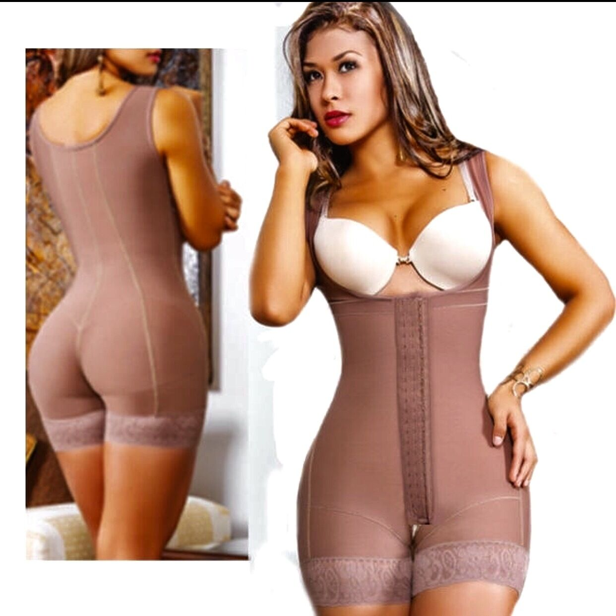 d73b8162f Fajate Womens Post Surgery Postpartum Colombian Original Body Shaper ...