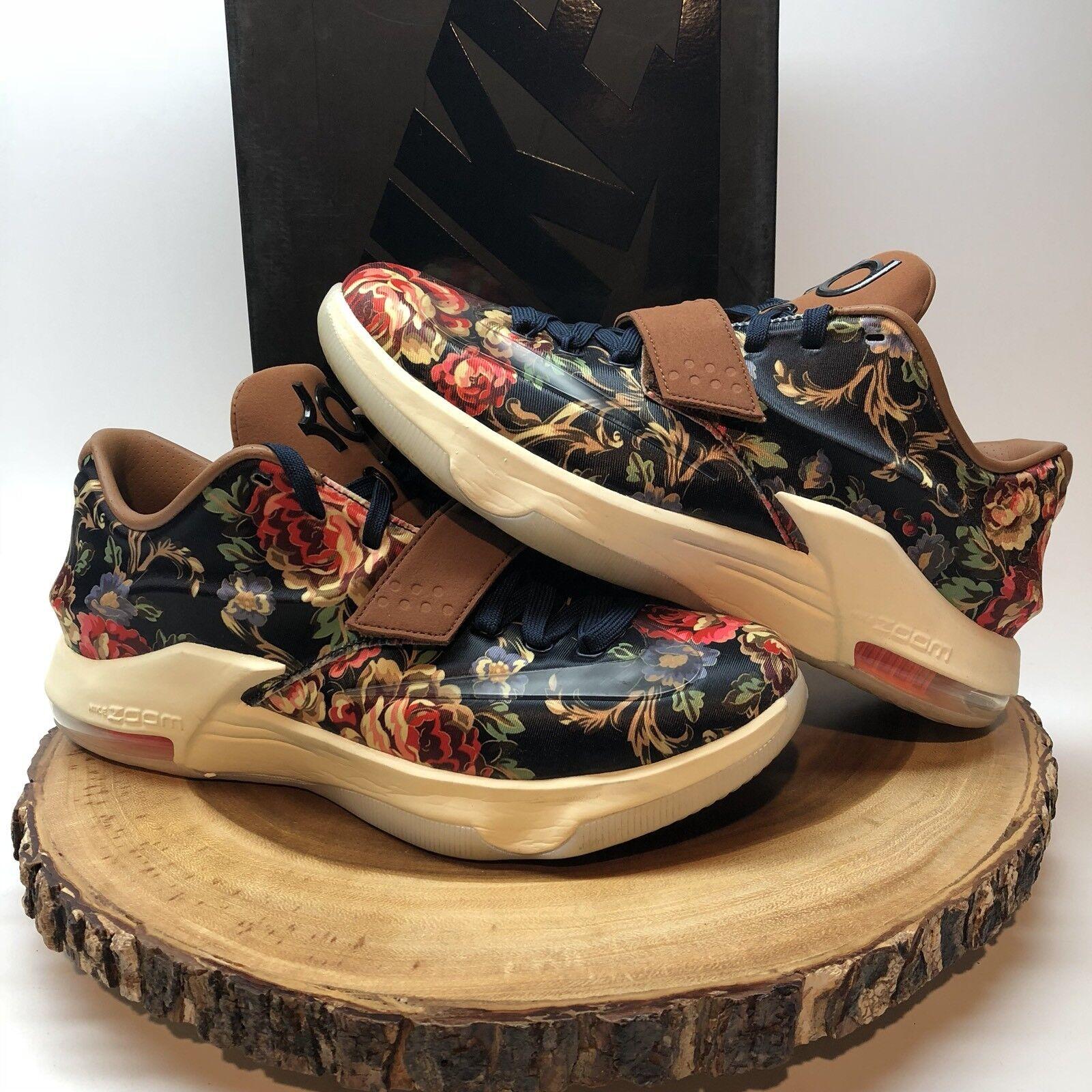 Nike KD VII ext floral QS Midnight Navy / Negro-hazelnut baratos 726438-400 tamaño 10 LeBron baratos Negro-hazelnut zapatos de mujer zapatos de mujer b5950b