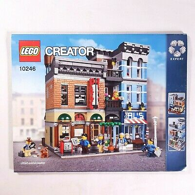 LEGO 10251 Creator Modular Brick Bank Manual Instruction Booklet New in Package!