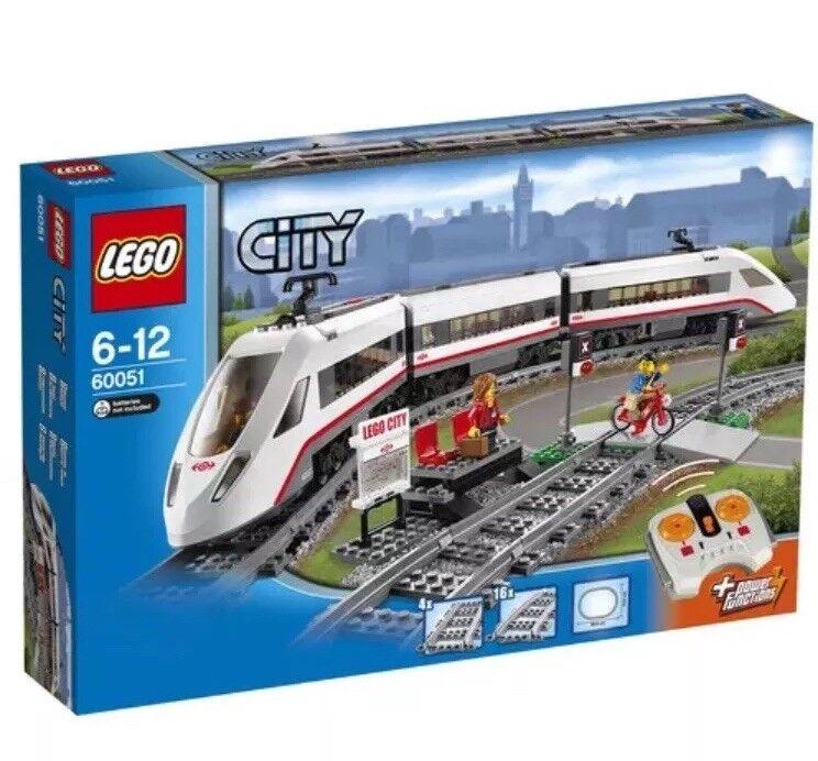 LEGO City High-speed Passenger Train 60051 New Sealed Retired Rare
