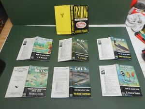 HOW TO CATCH THEM X6 3 1STS BOOK/DJKTS SPOONS RODS BAITS VGC LOW POST PIKE CHUB