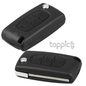 Entry-Key-Remote-Fob-Shell-Case-for-Peugeot-406-407-408-307-107
