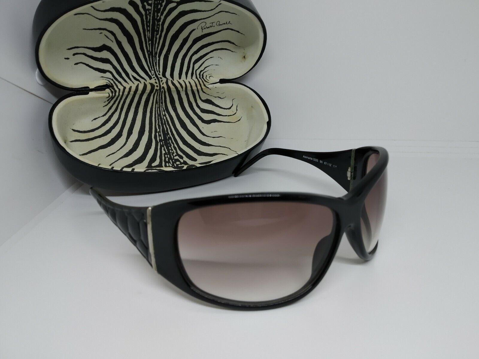 100% Authentic Roberto Cavalli Atamante 322S Oversized Wrap Women's Sunglasses